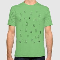 O Christmas tree[s] Mens Fitted Tee Grass SMALL