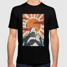 Mount Spitfire Mens Fitted Tee X-LARGE Black