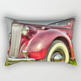 Packard Type 138 Vintage Saloon Car Rectangular Pillow
