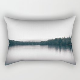 Forest Lake II Rectangular Pillow