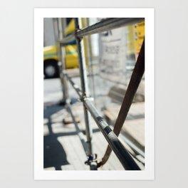 Construction Zone Art Print
