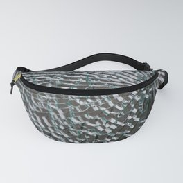 Cracked Glass Fanny Pack