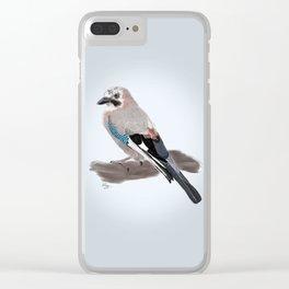 The Eurasian Jay Clear iPhone Case