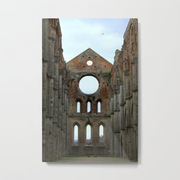 San Galgano Abbey Metal Print