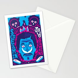 THE ROOTS OF HORROR ROCK :: SCREAMIN' JAY HAWKINS Stationery Cards
