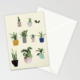 HOUSE PLANTS Stationery Cards