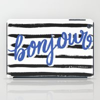 bonjour iPad Cases featuring Bonjour! by magicmaia