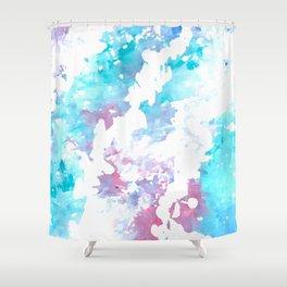 Blueberry Bubblegum Shower Curtain