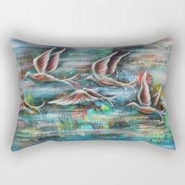 Flight of my Imagination Rectangular Pillow
