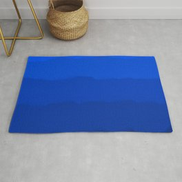 Endless Sea of Blue Rug