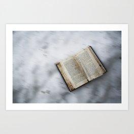 Book's little world 2 Art Print