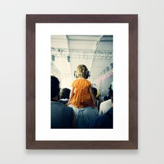 LuLu at Bon Iver Framed Art Print
