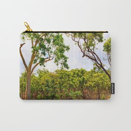 Eucalyptus trees in the bush Carry-All Pouch