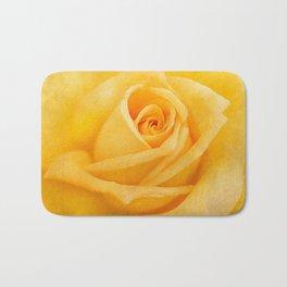 Yellow Rose Bath Mat