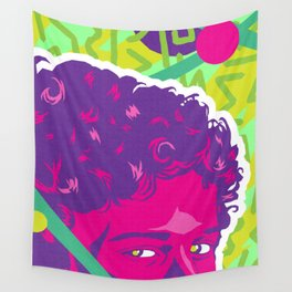 SCREECH :: Memphis Design :: Saved By the Bell Series Wall Tapestry