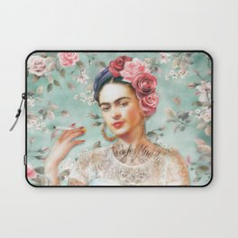 Frida's Exotic Cat Laptop Sleeve
