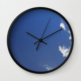 White Edge Wall Clock