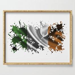 Irish Splatter Serving Tray