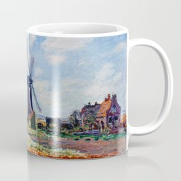 Claude Monet Tulip Field In Holland Coffee Mug