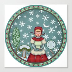 peaceful snow 2 Canvas Print