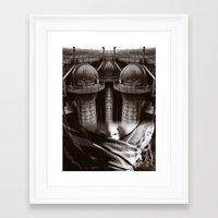 industrial Framed Art Prints featuring Industrial by Cash Mattock