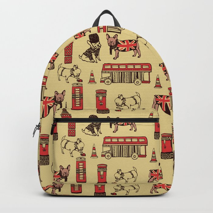 London Frenchies Backpack