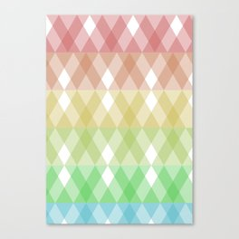 Tringles Gradient Canvas Print