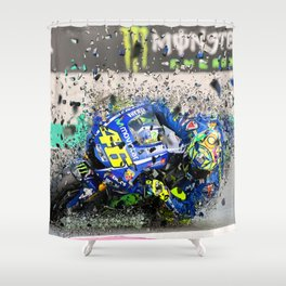 moto gp Shower Curtain