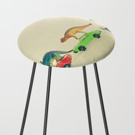 Dinosaurs Ride Cars Counter Stool