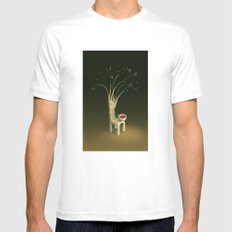 Strawberry Guava Tree Mens Fitted Tee MEDIUM White