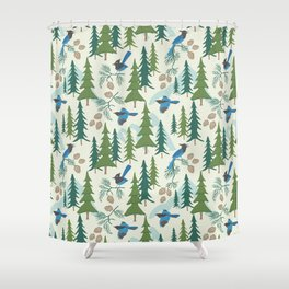 Sierra Forest Shower Curtain