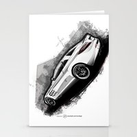 mercedes Stationery Cards featuring Mercedes-Benz SLR McLaren 722 by an.artwrok