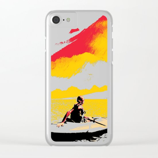 Idyllic Clear iPhone Case