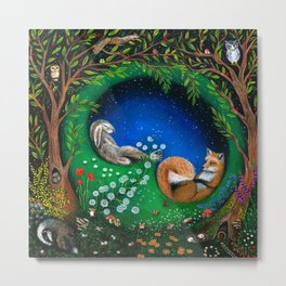 Midsummer Night's Dream Metal Print