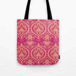 Simple Ogee Pink Tote Bag