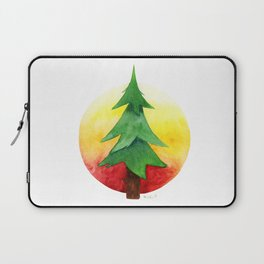 The Pine Guard Watercolor Logo Laptop Sleeve