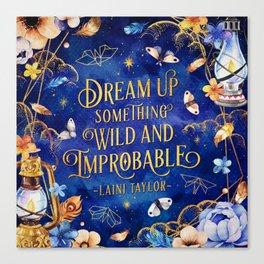 Dream up Canvas Print