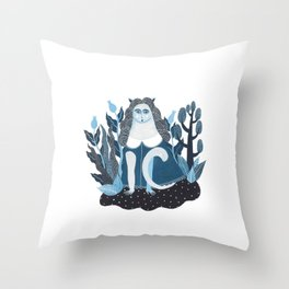 We are cats inside Throw Pillow