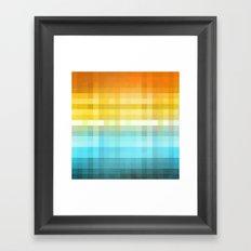 Pixel 4 Framed Art Print