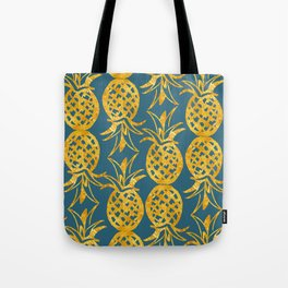 Pineapple Luxe Tote Bag
