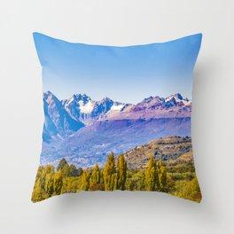 Patagonia Landscape, Aysen, Chile Throw Pillow