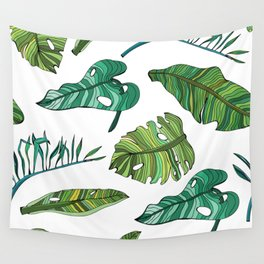 BANAN LEAVES Wall Tapestry