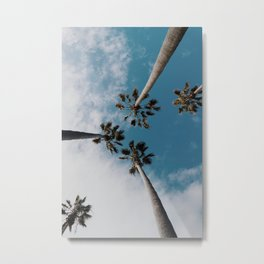 Palm Tree Summer Fun Metal Print