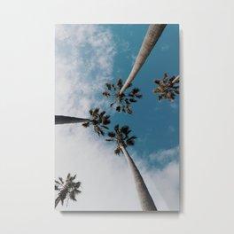 Palm Tree Summer Fun Metal Print