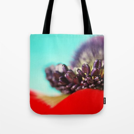 Anemone Red Tote Bag