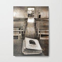 Bible Print Metal Print