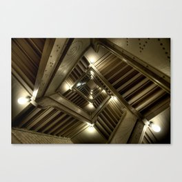Looking Up the Rabit Hole Canvas Print