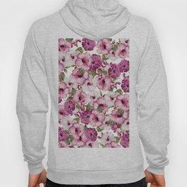 Hibiscus Pattern Hoody