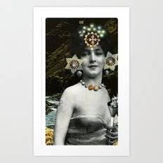 3. The Empress Art Print