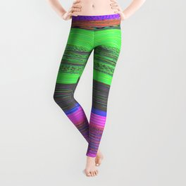 Audio Spectrum Test Tones Leggings